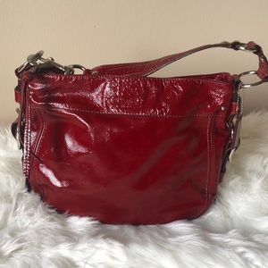 Coach Patent Shoulder Bag